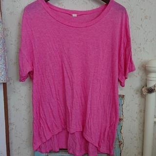 ハグオーワー(Hug O War)のお値下げ❤︎⃜CLOTH & CROSSピンクTシャツ(Tシャツ/カットソー(半袖/袖なし))