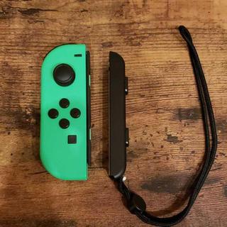 ニンテンドースイッチ(Nintendo Switch)の純正品 Joy-Con ネオングリーン 未使用品 ニンテンドースイッチ(その他)