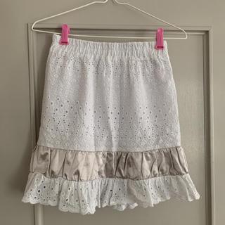 メリージェニー(merry jenny)のメリージェニー コットンスカート(ひざ丈スカート)