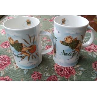 ハロッズ(Harrods)のハロッズ マグカップ2客(食器)