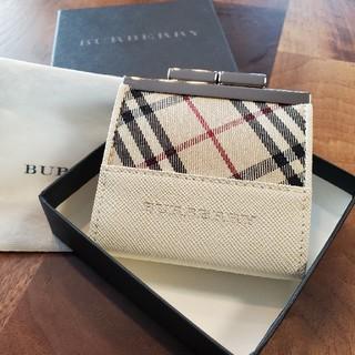 バーバリー(BURBERRY)のBURBERRY✩小銭入れ✩新品未使用!箱付き(コインケース)