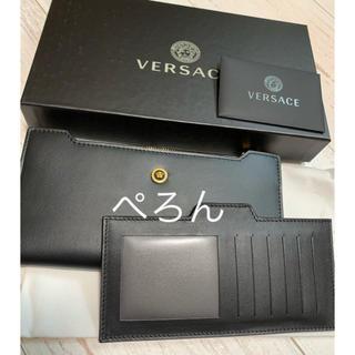 ヴェルサーチ(VERSACE)の【正規品】VERSACE ヴェルサーチェ メデューサ カードケース付 長財布(長財布)