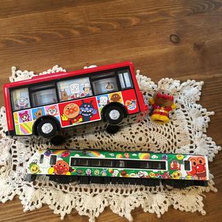 アンパンマン  列車とバスのセット