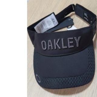 オークリー(Oakley)のオークリー サンバイザー ブラック フリー(サンバイザー)