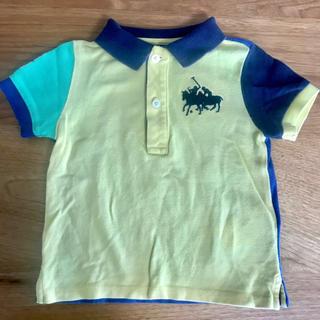 ポロラルフローレン(POLO RALPH LAUREN)のラルフローレン 半袖ポロシャツ(黄色)80(シャツ/カットソー)