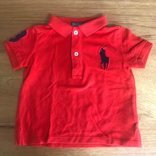 POLO RALPH LAUREN - ラルフローレン 半袖ポロシャツ(赤)80