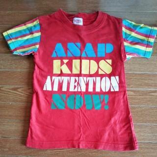 アナップキッズ(ANAP Kids)の110 ANAP カラフルTシャツ(Tシャツ/カットソー)
