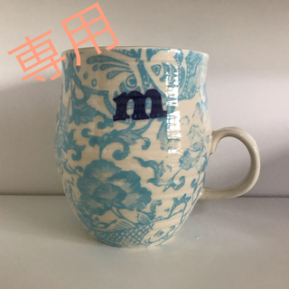 アンソロポロジー(Anthropologie)のm-ちゃん様専用]アンソロポロジー マグカップ  m&n(グラス/カップ)