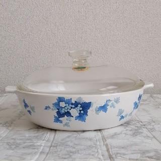 ナルミ(NARUMI)の【未使用】ナルミ 鳴海製陶 クックマスター ホワイト 超耐熱ガラス食器(鍋/フライパン)