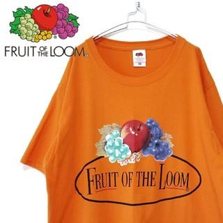 Santa Monica - vintage FRUIT OF THE LOOM Tシャツ オレンジ