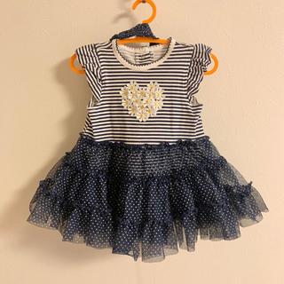 リトルミー(Little Me)の【美品】Little me ワンピース ドレス(ワンピース)
