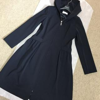 エムプルミエ(M-premier)のMプルミエ ブラック スプリング コート 完売品 お値下げ  期間限定(スプリングコート)