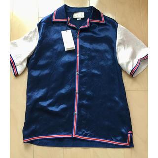 グッチ(Gucci)のグッチ半袖スタジャンのようなシャツジャケット(スタジャン)