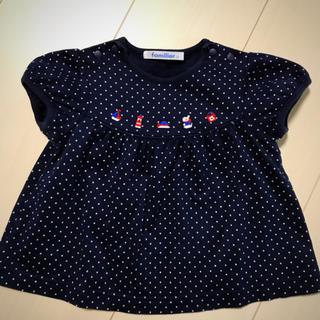 familiar - 値下げ中♡ファミリア チュニック Tシャツ 女の子♡