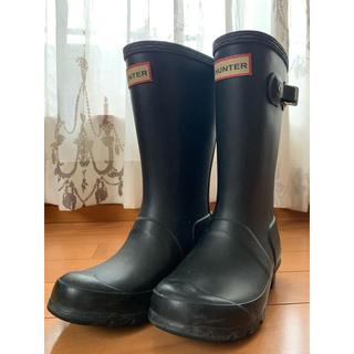 ハンター(HUNTER)のHunter 長靴 レインブーツ kids 子供 UK12 18cm(長靴/レインシューズ)