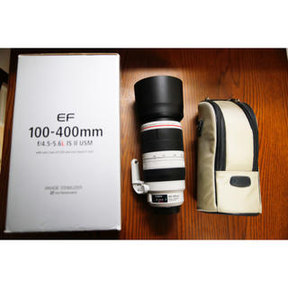 Canon - EF100-400mm F4.5-5.6L IS II USM canon