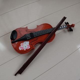 ハローキティ(ハローキティ)のキティバイオリン♣(楽器のおもちゃ)