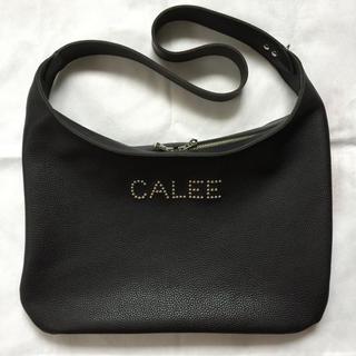 キャリー(CALEE)の定価99000円!Calee キャリー カウレザー ショルダーバッグ (ショルダーバッグ)