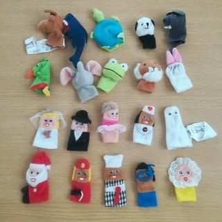 イケア(IKEA)のIKEA ゆび人形 20個セット(ぬいぐるみ/人形)