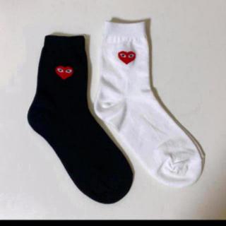 コムデギャルソン(COMME des GARCONS)の靴下 二足セット (ソックス)