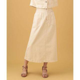 デイシー(deicy)のDEICY♡デニムミディパッチポケットスカート(ロングスカート)