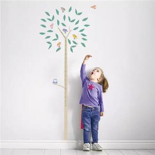 イケア(IKEA)の【新品・未使用】苗木と小鳥のウォールステッカー(その他)