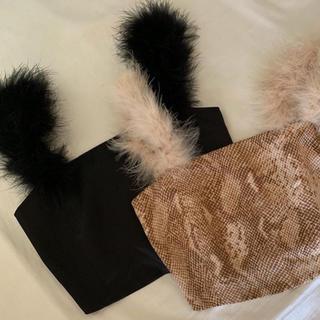 エディットフォールル(EDIT.FOR LULU)のCat's tail camisole Black(キャミソール)