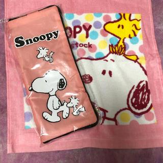 スヌーピー(SNOOPY)のスヌーピーの傘カバーとハンドタオル(傘)