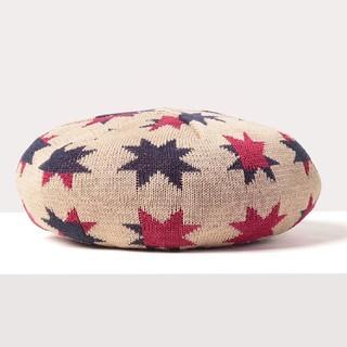ヴィヴィアンウエストウッド(Vivienne Westwood)の2020新作最安値✴️グラフィックスターベレー帽B✴️ヴィヴィアンウエストウッド(ハンチング/ベレー帽)