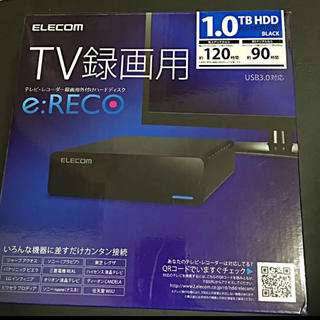 ELECOM - テレビ、レコーダー録画用外付けハードディスク