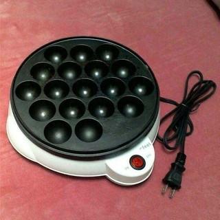 アイリスオーヤマ(アイリスオーヤマ)のたこ焼き器アイリスオーヤマのタコ焼き器です たこ焼き器 アイリスオーヤマ(たこ焼き機)