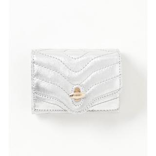 ユナイテッドアローズ(UNITED ARROWS)の未使用 付属品完備 プレゼントに◎ HASHIBAMI ハシバミ 財布 シルバー(財布)