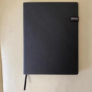 【未使用】HUGO BOSS レザーノート