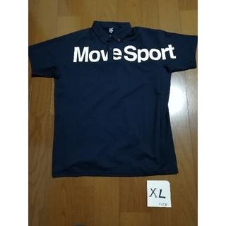 DESCENTE - 20春夏モデル‼️DESCENTE Move Sport BD ポロXLネイビー