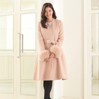 Debut de Fiore - アンゴラ ピンク リボン プリンセスコート