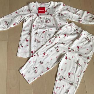 ミキハウス(mikihouse)のミキハウス 長袖パジャマ 90cm(パジャマ)