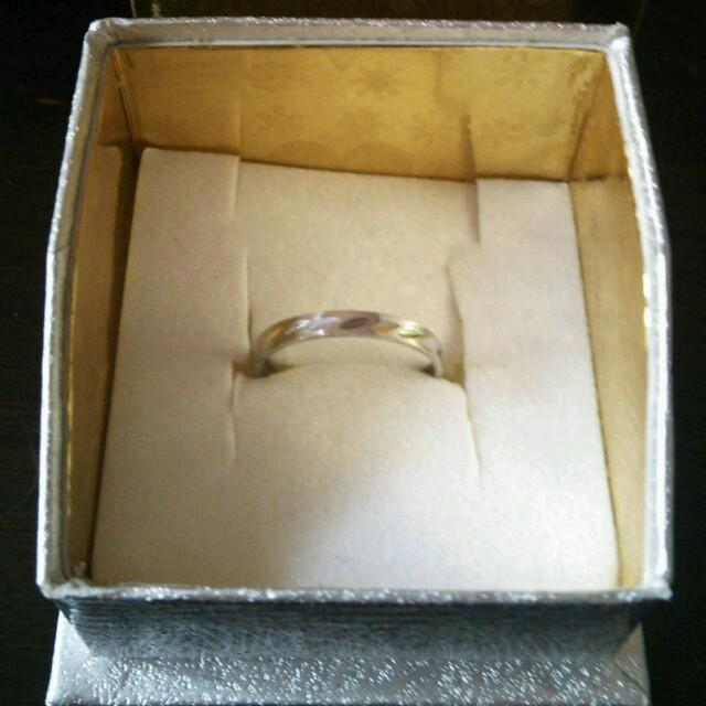 シルバー ピンキーリング レディースのアクセサリー(リング(指輪))の商品写真