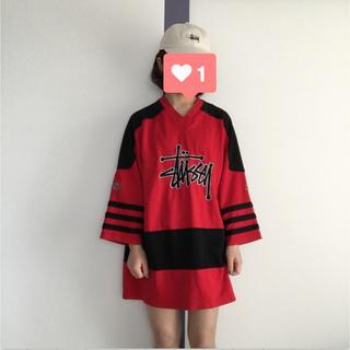 ステューシー(STUSSY)のStussy ラグランTEE(Tシャツ/カットソー(七分/長袖))