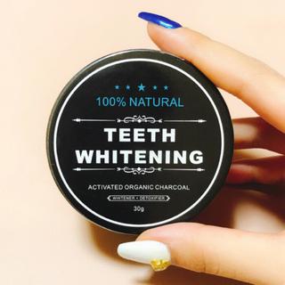 新品♡チャコール歯磨き粉.パウダー.ホワイトニング.炭(歯磨き粉)