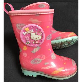 ハローキティ(ハローキティ)のキティ15 ㎝長靴 女の子 レインブーツ(長靴/レインシューズ)