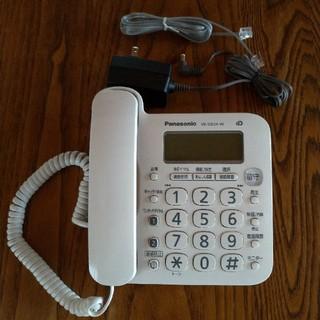 パナソニック(Panasonic)のパナソニック VE-GD24-W コードレス電話 親機(日用品/生活雑貨)