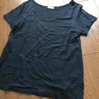 アングローバルショップ(ANGLOBAL SHOP)のFORDMILLS / リネンジャージTシャツ(カットソー(半袖/袖なし))