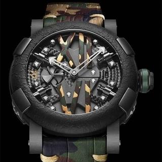 ウブロ(HUBLOT)の未使用RJ WATCHロマンジェローム romainjeromeスチームパンク (腕時計(アナログ))