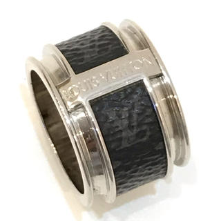 ルイヴィトン(LOUIS VUITTON)の6154 LOUIS VUITTON リング バーグモノグラム エクリプス L(リング(指輪))
