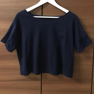 アナイ(ANAYI)のアナイ ネイビー Tシャツ カットソー(Tシャツ(半袖/袖なし))