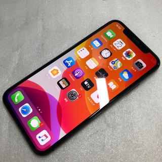 アイフォーン(iPhone)のSIM FREE  iPhone X 256GB ジャンク aki565(スマートフォン本体)