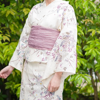 シマムラ(しまむら)のプチプラのあや しまむら セパレート 浴衣 ピンク 兵児帯(浴衣)