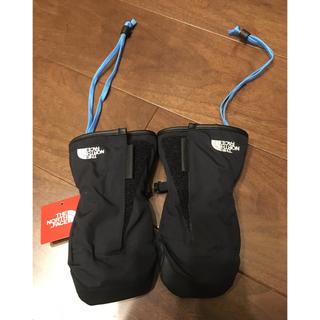ザノースフェイス(THE NORTH FACE)の正規店 ノースフェイス キッズ ミトン 手袋 XL 身長100センチほど 完売品(手袋)