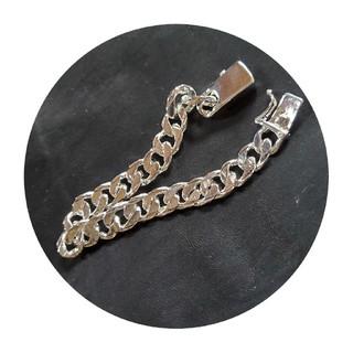 トゥデイフル(TODAYFUL)のS925 FLAT CHAIN bracelet(ブレスレット)