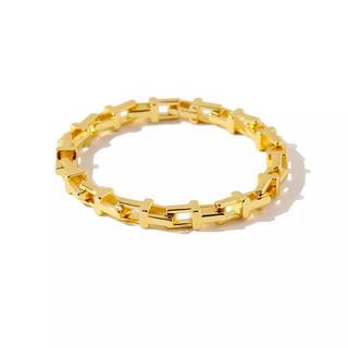 ロンハーマン(Ron Herman)のLEO様 j348.Tiffany T chain bracelet(gold)(ブレスレット)